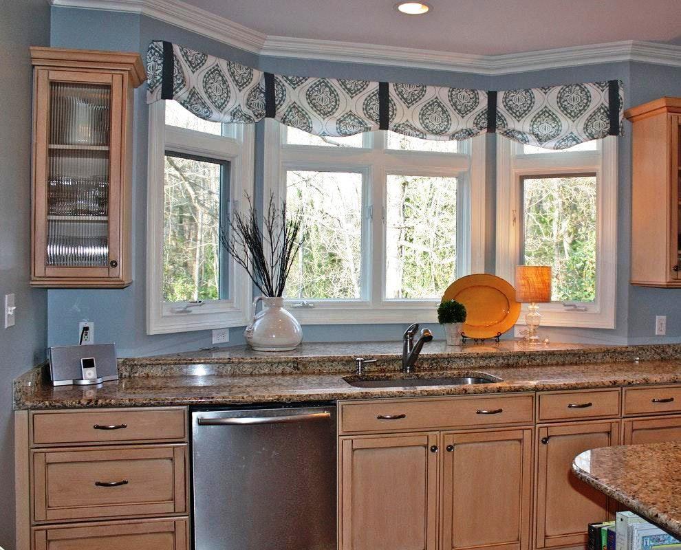 country kitchen valance ideas kitchen window valances kitchen bay window kitchen window on farmhouse kitchen valance ideas id=61041