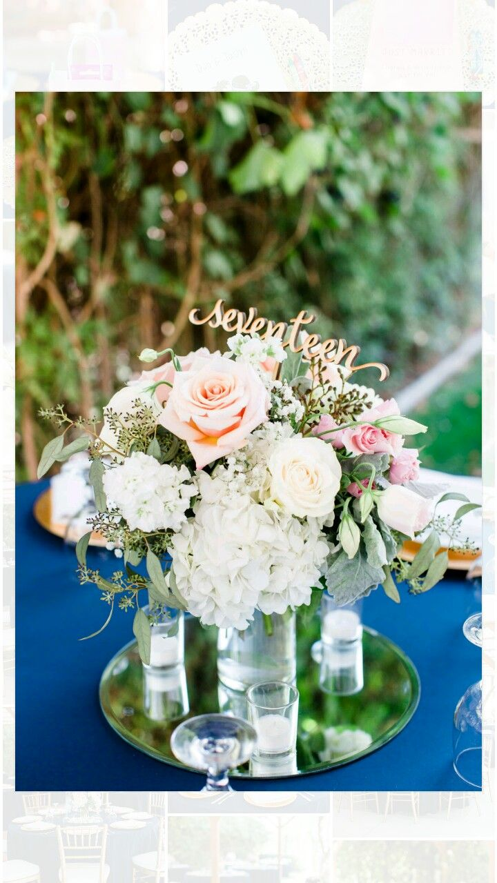 Abbott Manor Round Mirror Cylinder Vase Bride Provided Flowers And Votive Candles Wedding Centerpieces Mirror Centerpiece Votive Candles