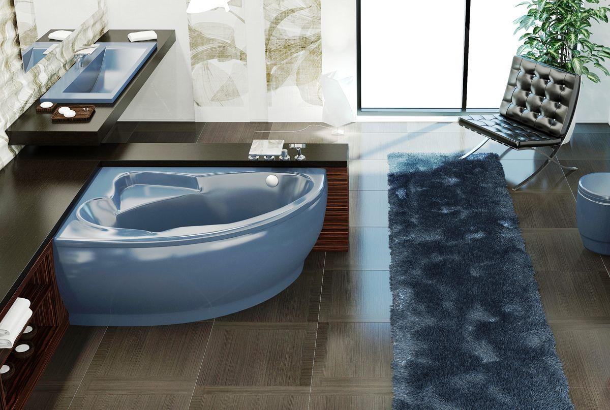 Atlantica™ by Aquatica Stone Corner Bathtub | Aquatica Plumbing ...