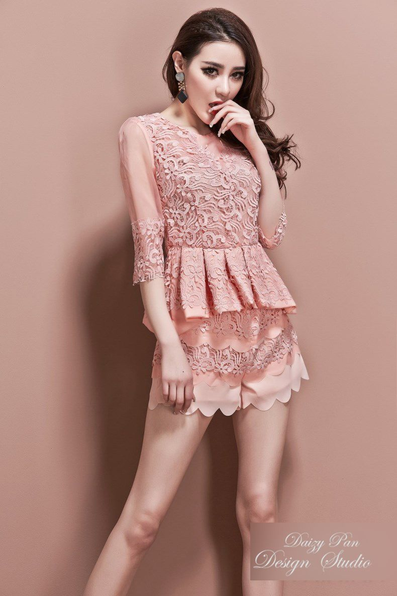 spring summer new fashion designer womenus clothing set sexy