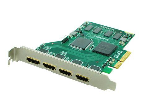 Magewell Quad HD HDMI/3D Video Capture Card USB 3 0 XI400DE