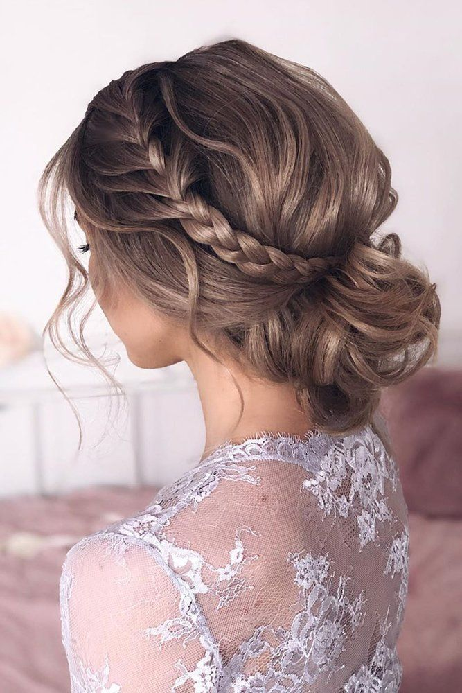 Wedding Hairstyles Best Ideas For 2020 Brides In 2020 Dance Hairstyles Low Bun Bridal Hair Wedding Forward Hair