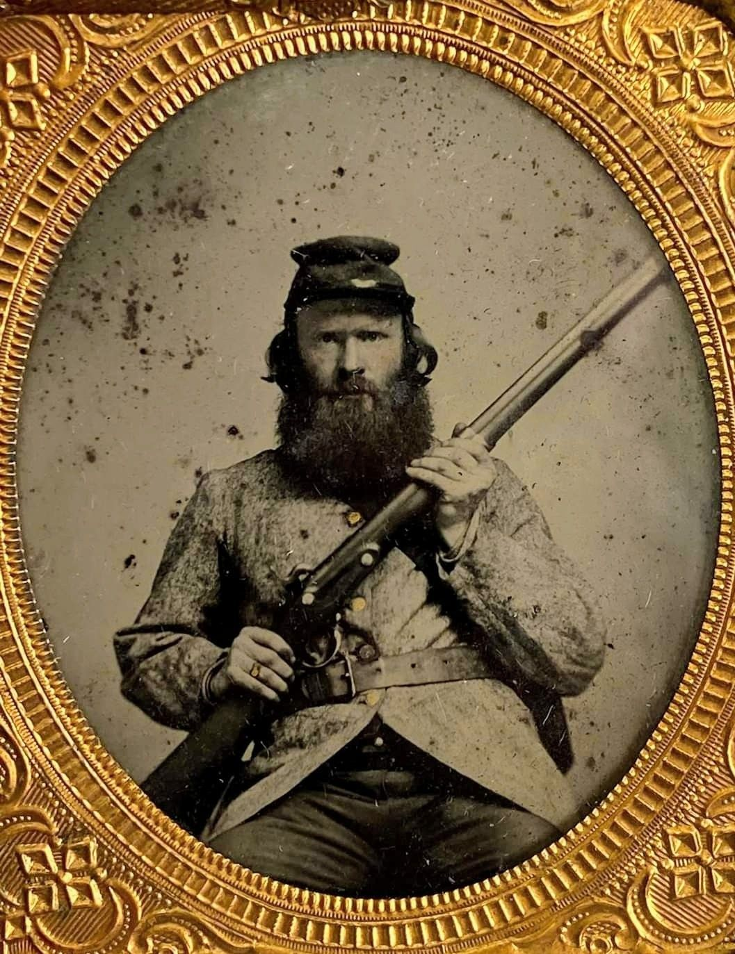 18th North Carolina Infantry Soldier From Poulin Auctions In 2020 Confederate Soldiers Civil War American Civil War