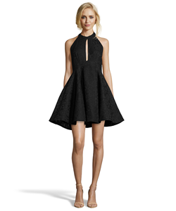 Issue New York Sheer Lace Dress