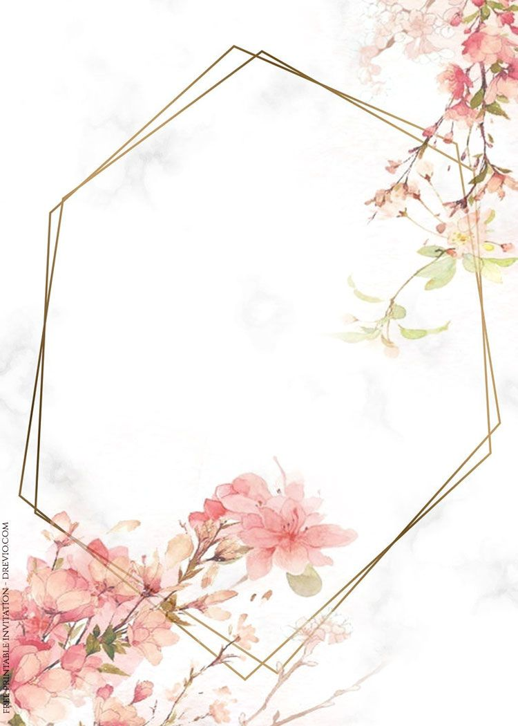 Nice ( 70+ FREE PRINTABLES ) - Vintage Floral Watercolor Invitation Templates #free #freeinvitation2019 #birthday #disney #invitations #invitationtemplates