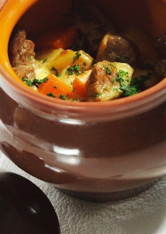 Русское жаркое с говядиной   Идеи для блюд, Рецепты для ...