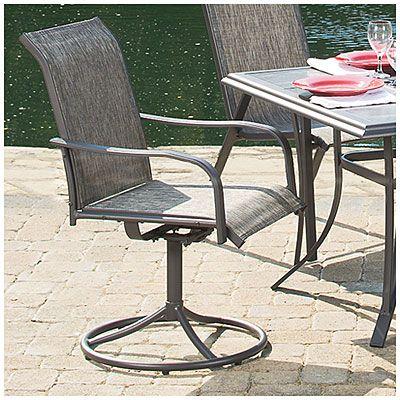 Wilson Amp Fisher 174 Monterra Set Of 2 Swivel Rockers Chairs