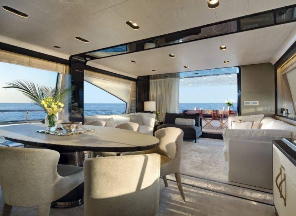 Innenarchitektur Yacht brillante esszimmer achille salvagni luxus esszimer