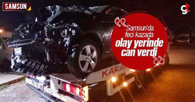 samsun da trafik kazasinda serkan balcanci oldu kazan otomobil gercekler