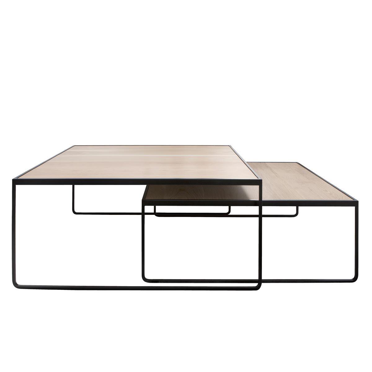 Fantastic Oak And Steel Stacking Coffee Table Furniture In 2019 Inzonedesignstudio Interior Chair Design Inzonedesignstudiocom