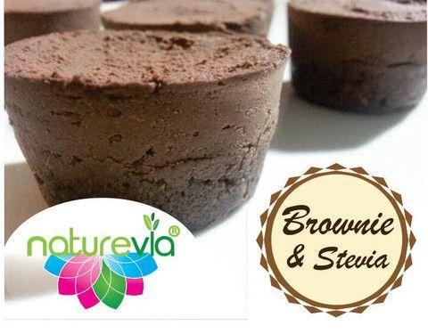 Yummy looking brownies can be so tasty with these natural sugars...   #sweetdish #recipe #naturalsugar #stevia