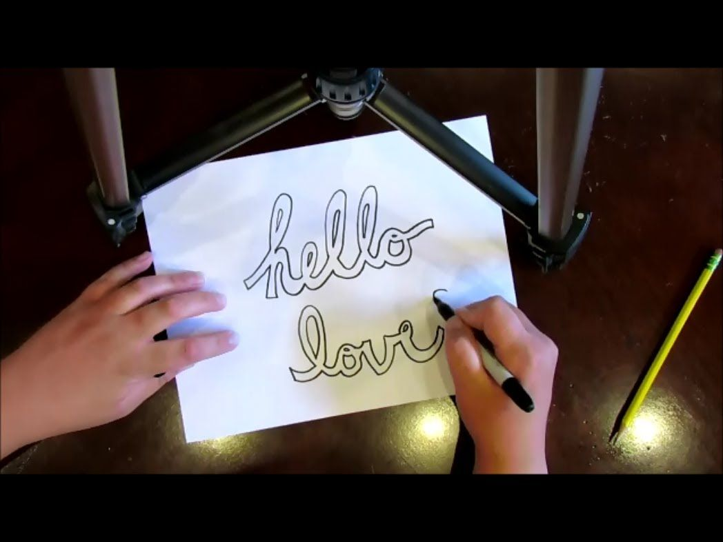 How To Draw Block And Bubble Letters In Cursive  By Mr Otter Art