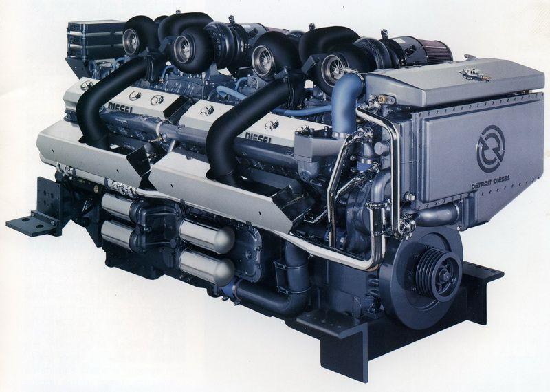 Detroit Diesel 24v71 Motores