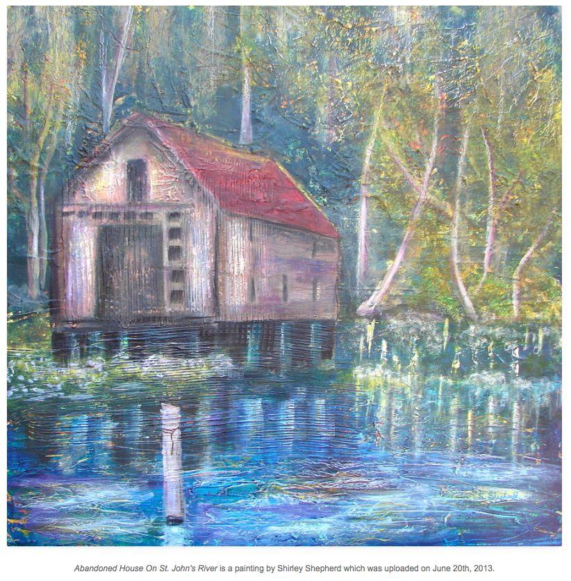Shirley Shepherd Painting Of Packing House