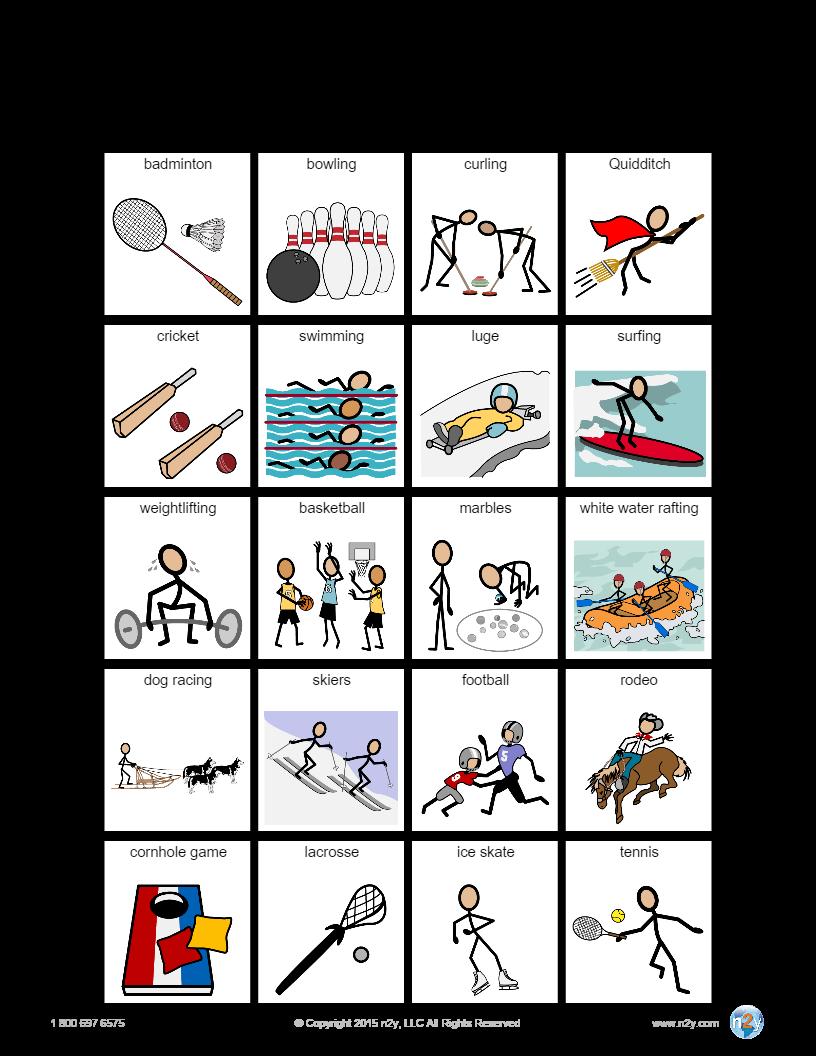 20 place template in SymbolStix ONLINE! | SymbolStix Activities ...