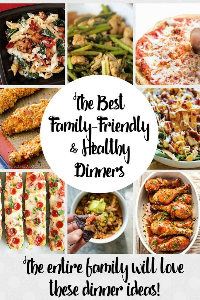 Healthy Family Friendly Recipes Do Exist! Every Year We All Have  Resolutions To Eat A