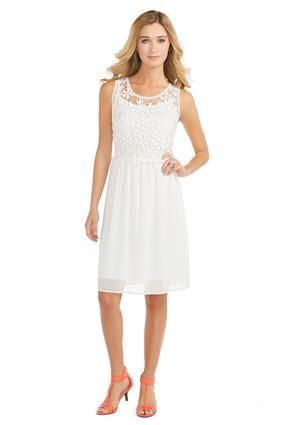 4f96106eed2 Cato Fashions Sheer Crochet Dress-Plus  CatoFashions  CatoSummerStyle