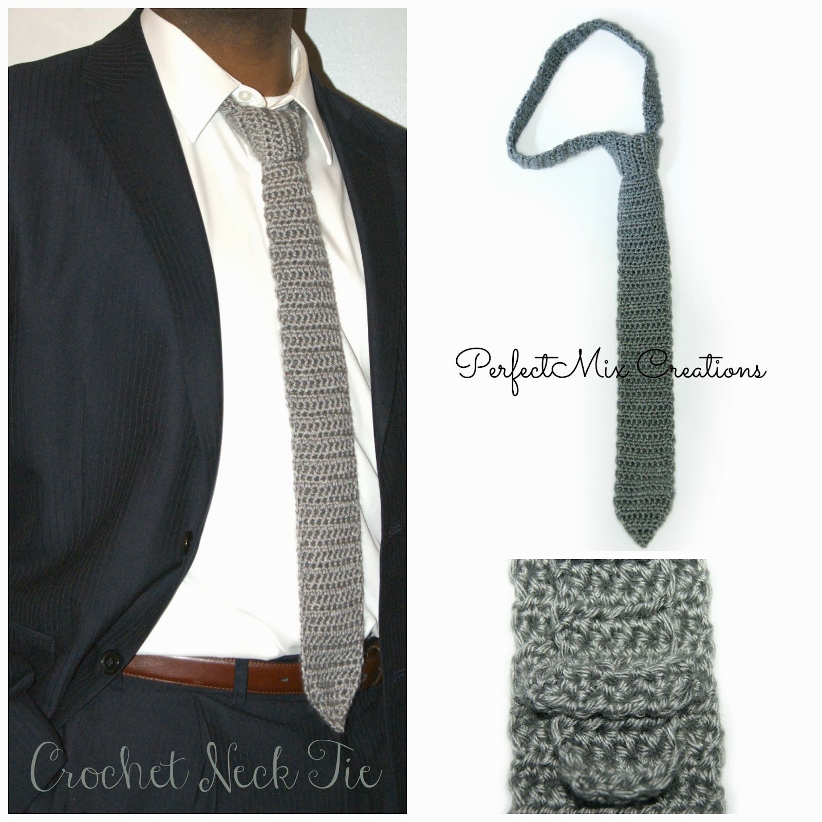 Mixin it up with DaPerfectMix\': Crochet Neck Tie Pattern ༺✿ƬⱤღ ...