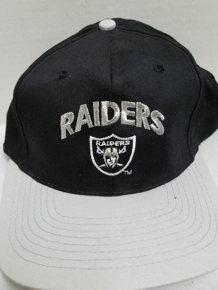 NFL Oakland Raiders OAKLAND Snapback Hat Black Grey Drew Pearson Companies   DrewPearsonCompanies  BaseballCap 89b737311c7