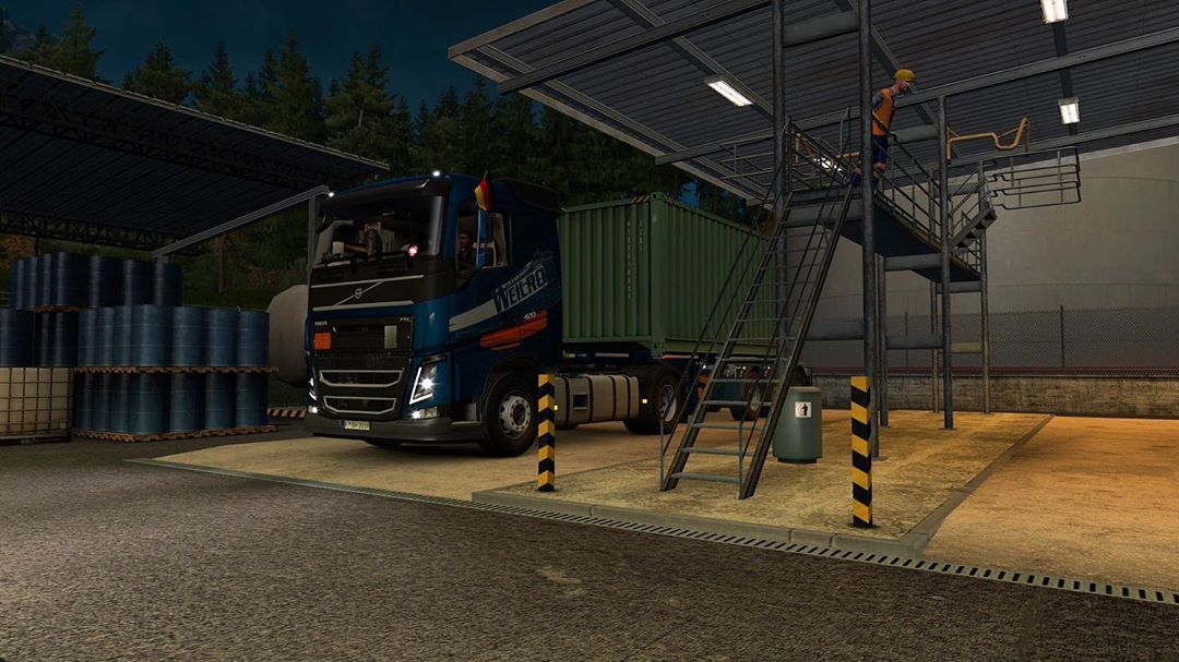 eurotrucksimulator2 #ets2 #scssoftware #communitydriverseats