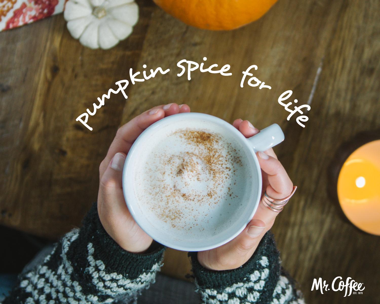 Enjoy Your National Pumpkin Spice Day Pumpkin Spice Mr Coffee Pumpkin