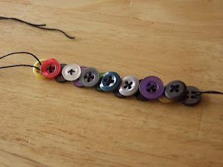 Layered Button Bracelet