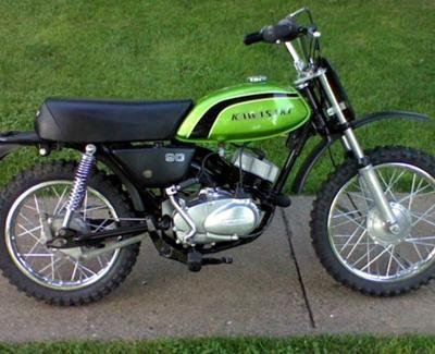 kawasaki 90cc | re: 1973 kawasaki mc1 90cc | scooters and ride