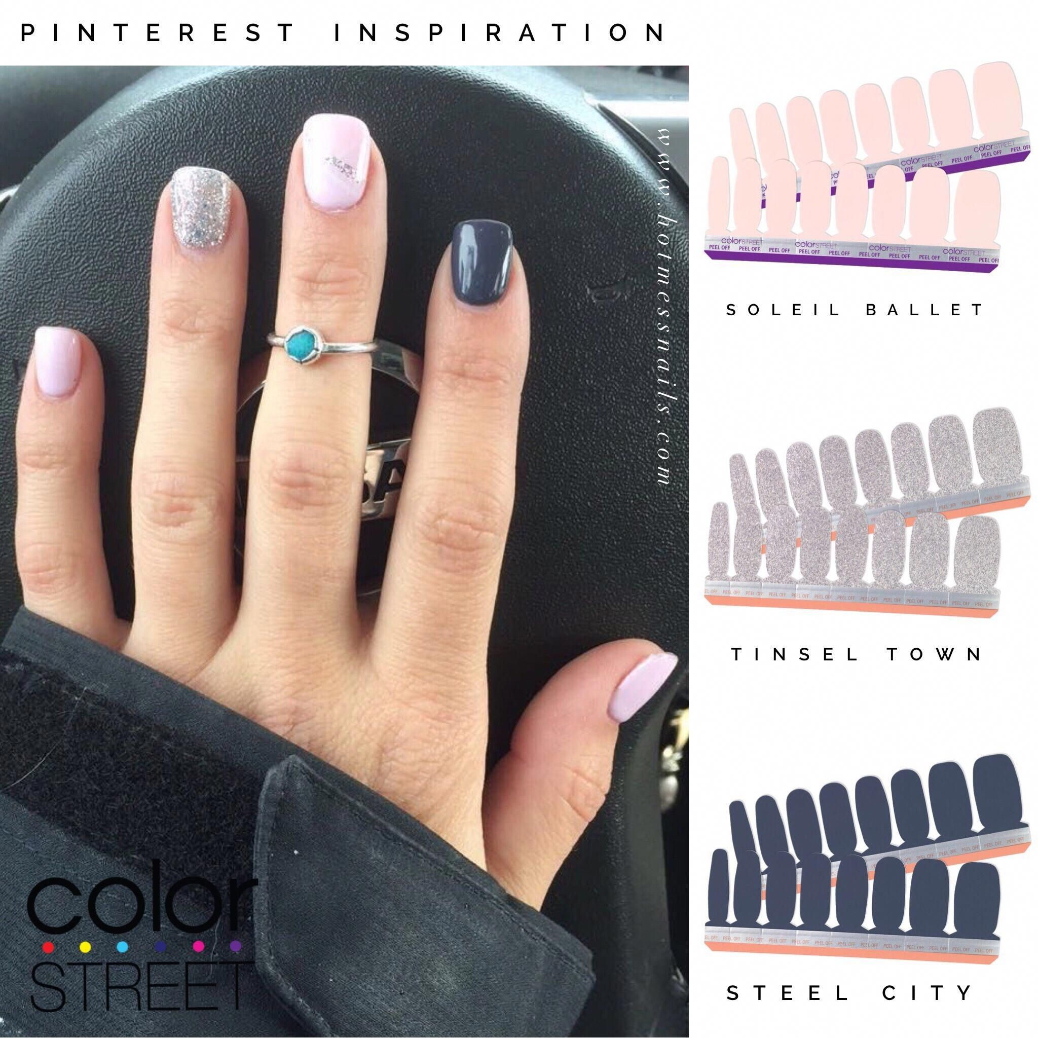 Use These Shades To Create At Home Manicure With 100 Dry Nail Polish For A Fraction Of The Cost Becol Color Street Nails Dry Nails Dry Nail Polish