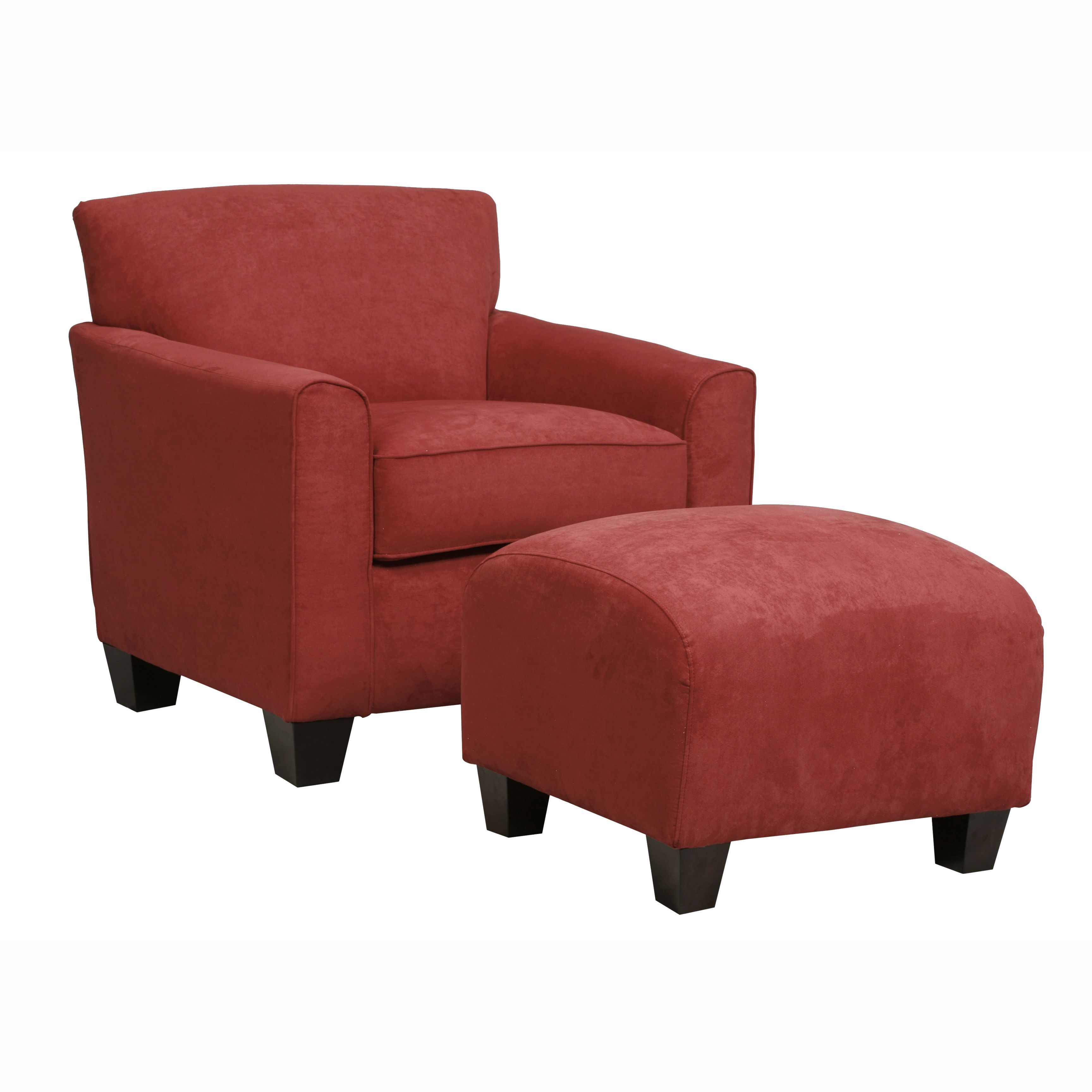 Handy living park avenue crimson red handtied chair and