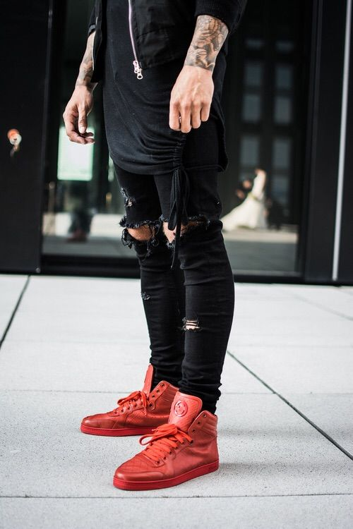 Imagine prin We Heart It #boys #clothes #fashion #men #outfits #. Man OutfitRed  ShoesShoes ...