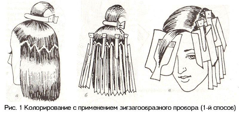 схема окрашивания волос картинки ростерем предлагает