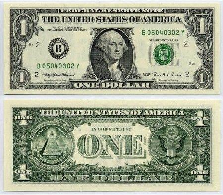 Printable Dollar Bill Actual Size Plot - Photographs might look fake 100 real