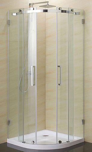 DOUCHE DE COIN ROND BMR Code BMR  045-3187 Small spaces - comment changer une porte