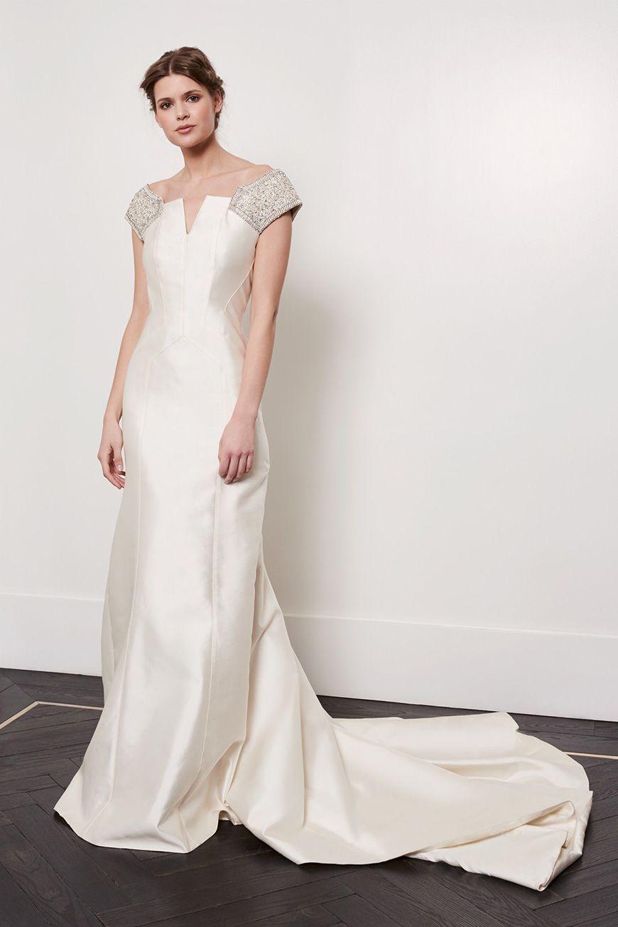 A Closer Look At Amanda Wakeley Wedding Dresses - Helena   CHWV ...