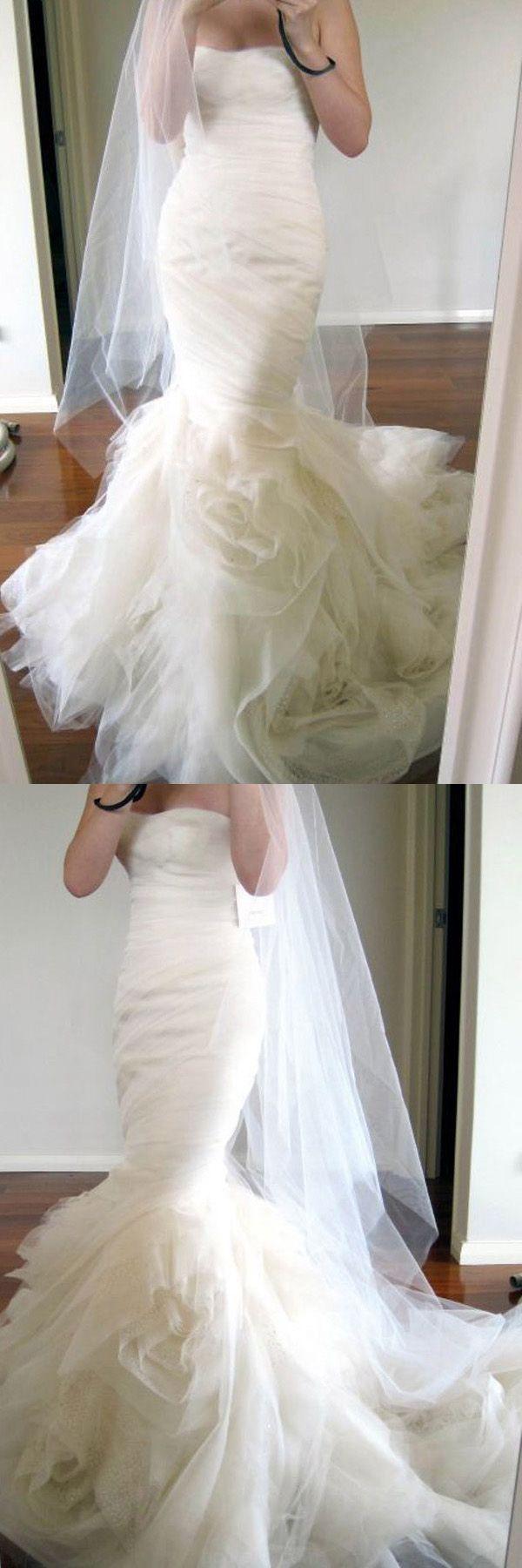 Distinct prom dresses satin wedding dress sweetheart sweep train