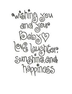 Perfect Baby Girl Card Quotes   Google Search