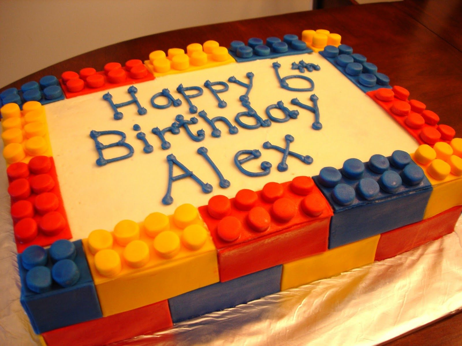 Google Image Result For HttpbpblogspotcomkPMmAvk - Lego birthday cake decorations