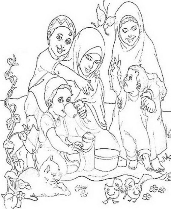 ramadan coloring pages for kids is an islamic colouring activity on ramadanthese ramadan coloring - Colouring Activity