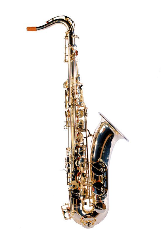 Ronnie Laws Silver Plated Professional Tenor Saxophone