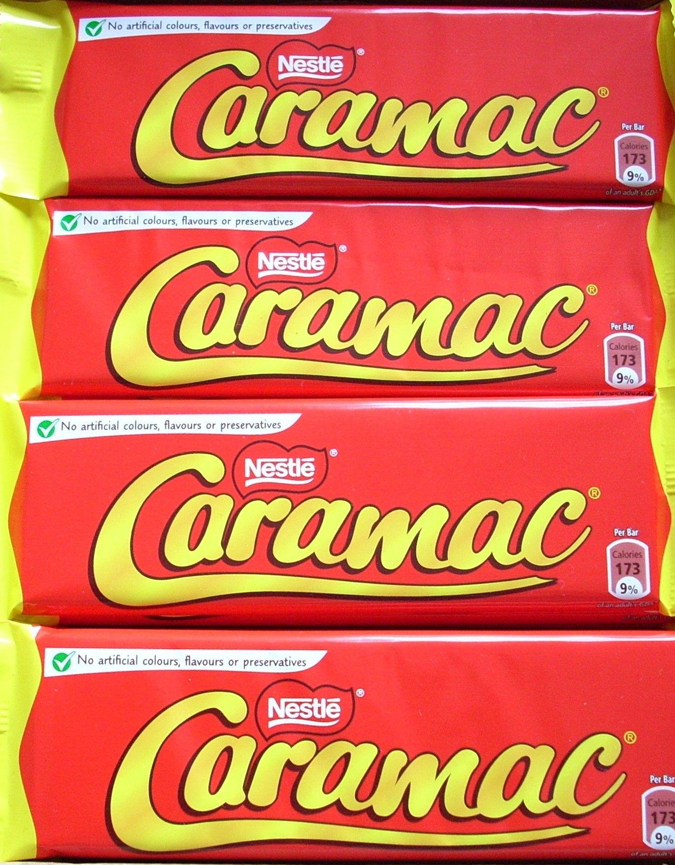 Caramac Best Sweets Caramac Artificial Color