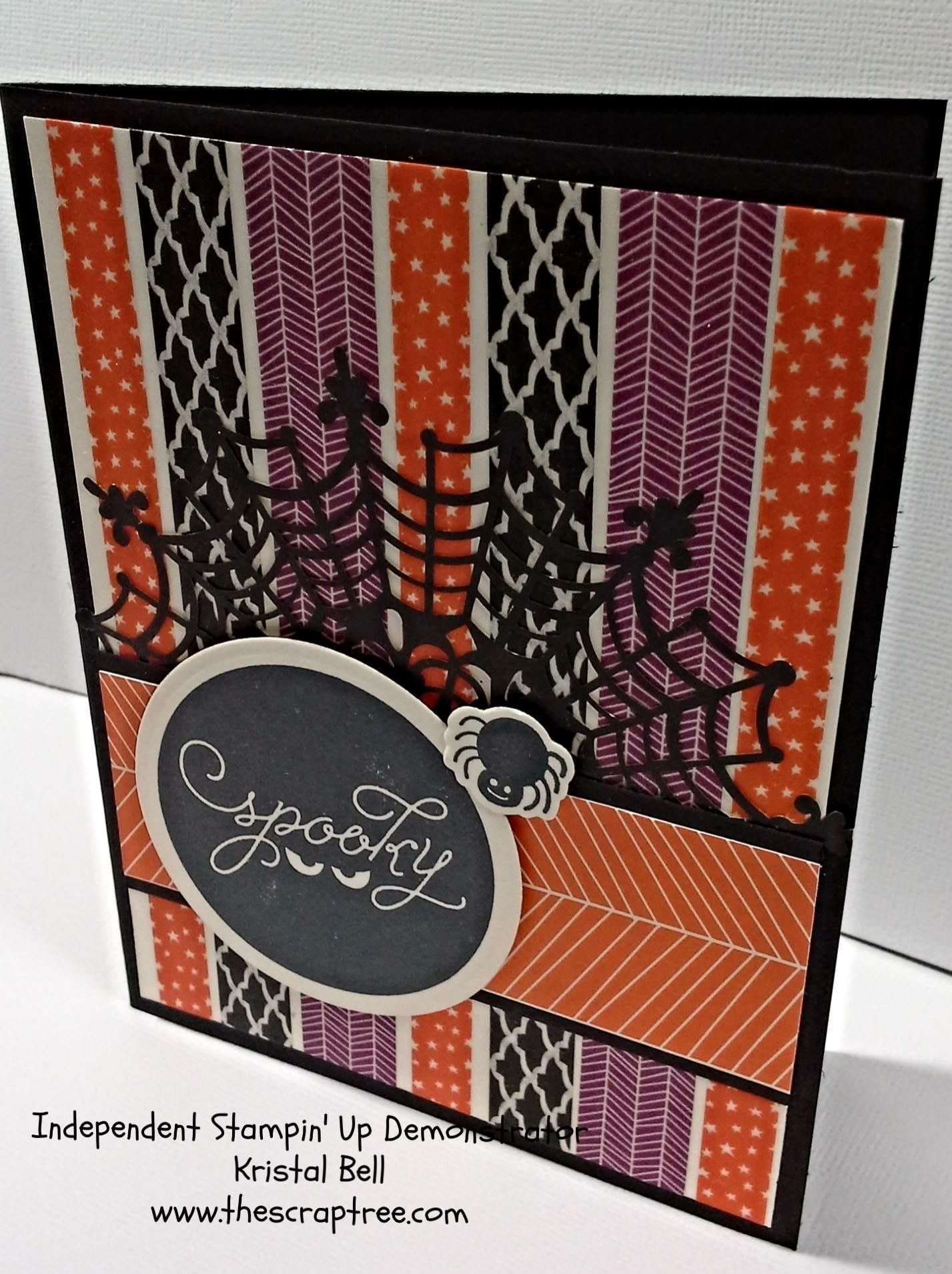 Washi Tape Halloween Card Scrapping And Card Making Pinterest