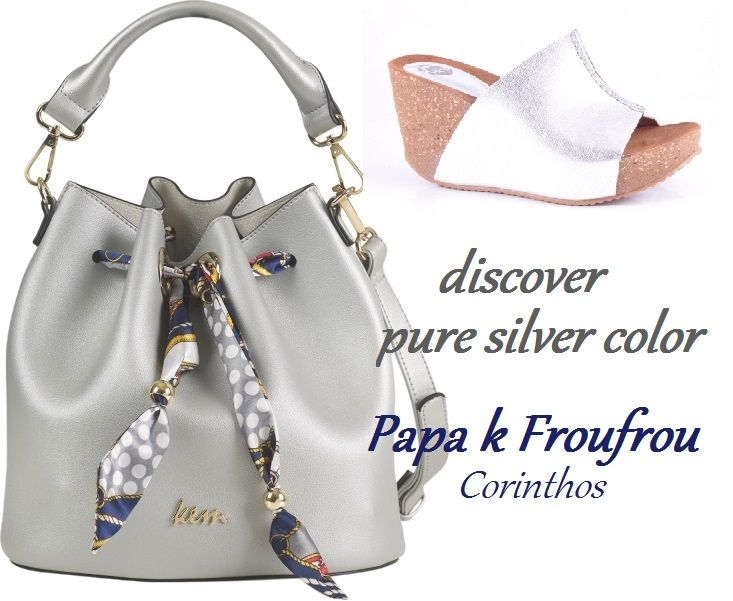 ed3735dab0 make silver choice for your style! Kem + Hee by Papa k Froufrou Μοντέρνα  Παπούτσια