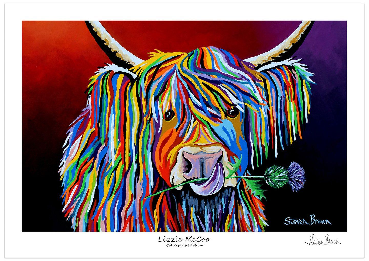 Lizzie mccoo collectorus edition print house fittings