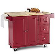 Rolling Island Home Decor Kitchen Portable Cart