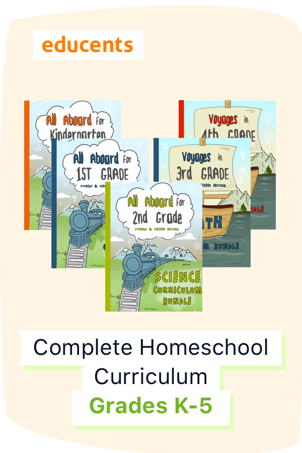 Complete Curriculum The Ultimate K 5 Homeschool Digital Textbook