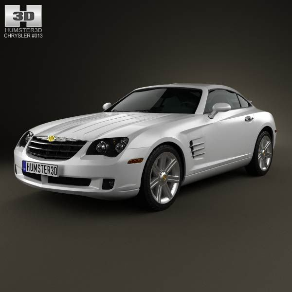 Chrysler Crossfire Coupe 2003 3d Model From Humster3d.com