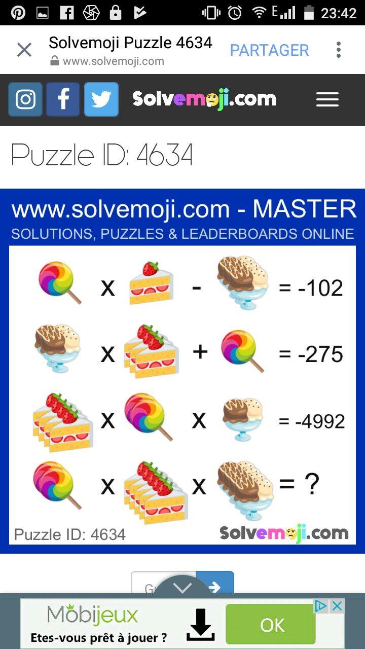 Pin by Noha Almubark on Screenshots | Maths puzzles, Math
