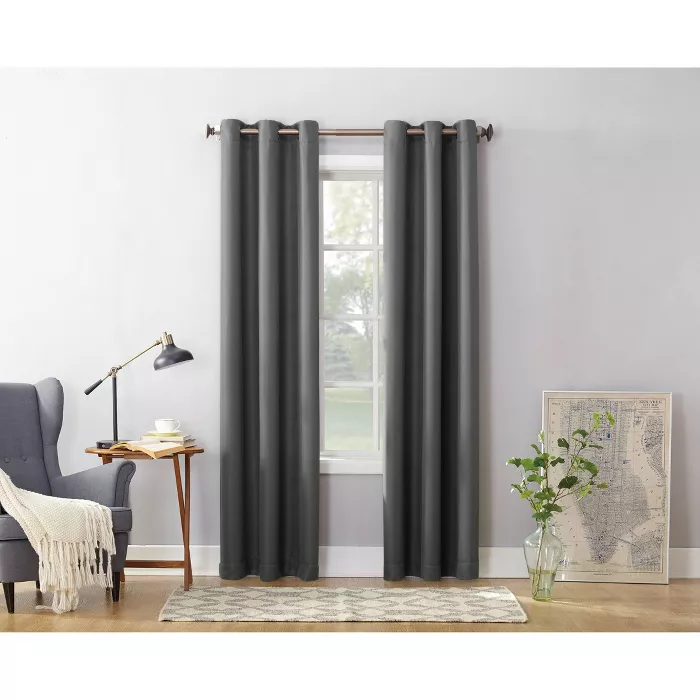 Montego Casual Grommet Top Curtain Panel No 918 In 2020 Panel