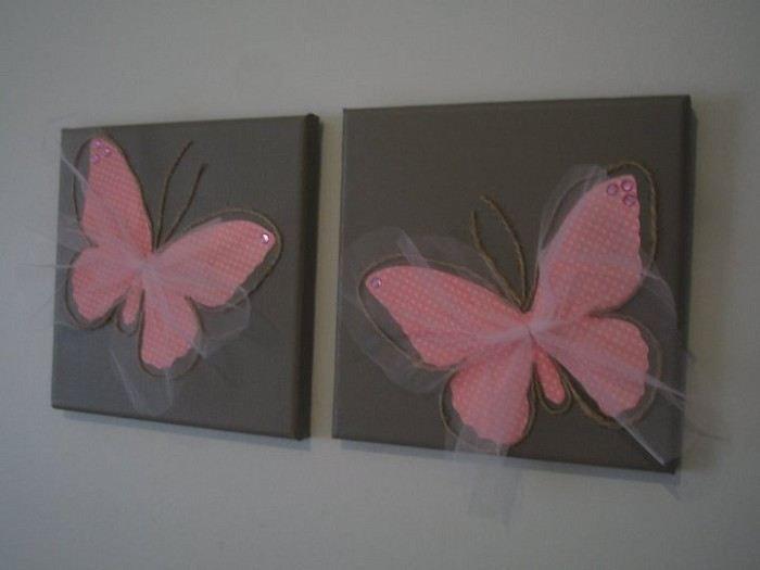 Wie süß würden diese in einem der Mädchenzimmer aussehen ...