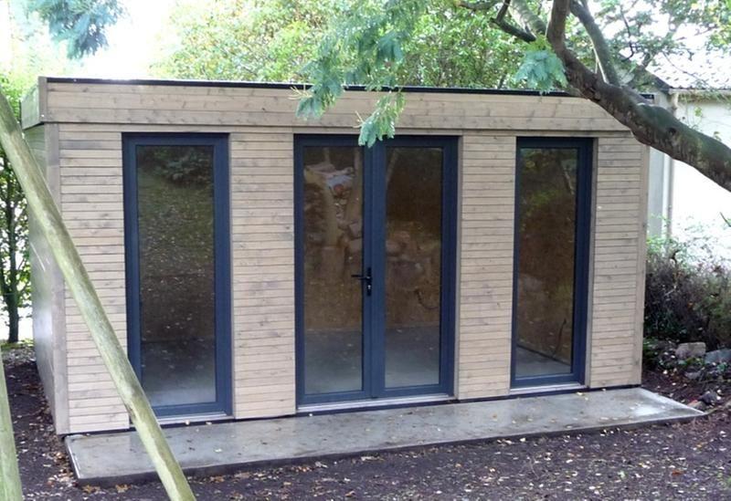 Abri De Jardin Decor Home 15 25 M Ep 90 Mm Leroy Merlin Studio De Jardin Abri De Jardin Abri De Jardin Bois